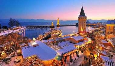 Dezember: Der Lindauer Weihnachtsmarkt, eine Reise wert